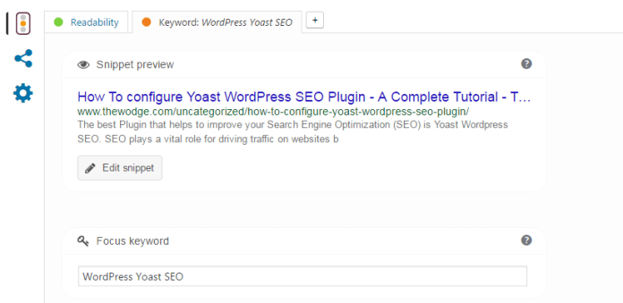 yoast seo optimisation