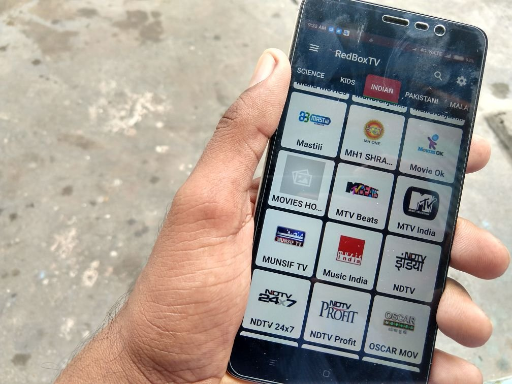 One of the Best HD Live TV app for Android - The Wodge