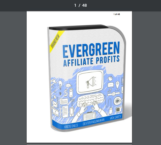 Evergreen Affiliate Profits Review The Wolf Of Online