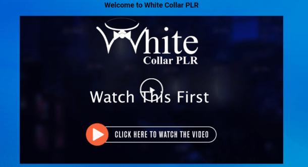 White Collar PLR Review