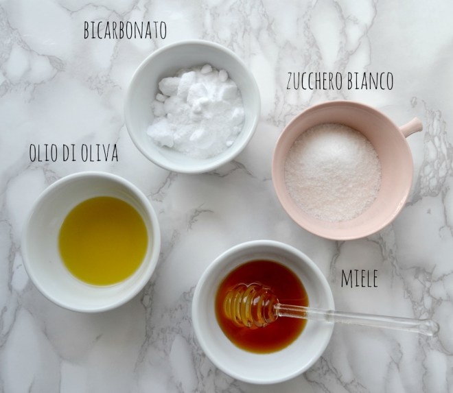scrub piedi ingredienti