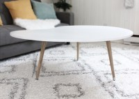 DIY Mid Century Modern Coffee Table (Under $50!)