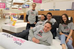 Wonderful sleep-in at Sleepright to raise money for Bed4Beds