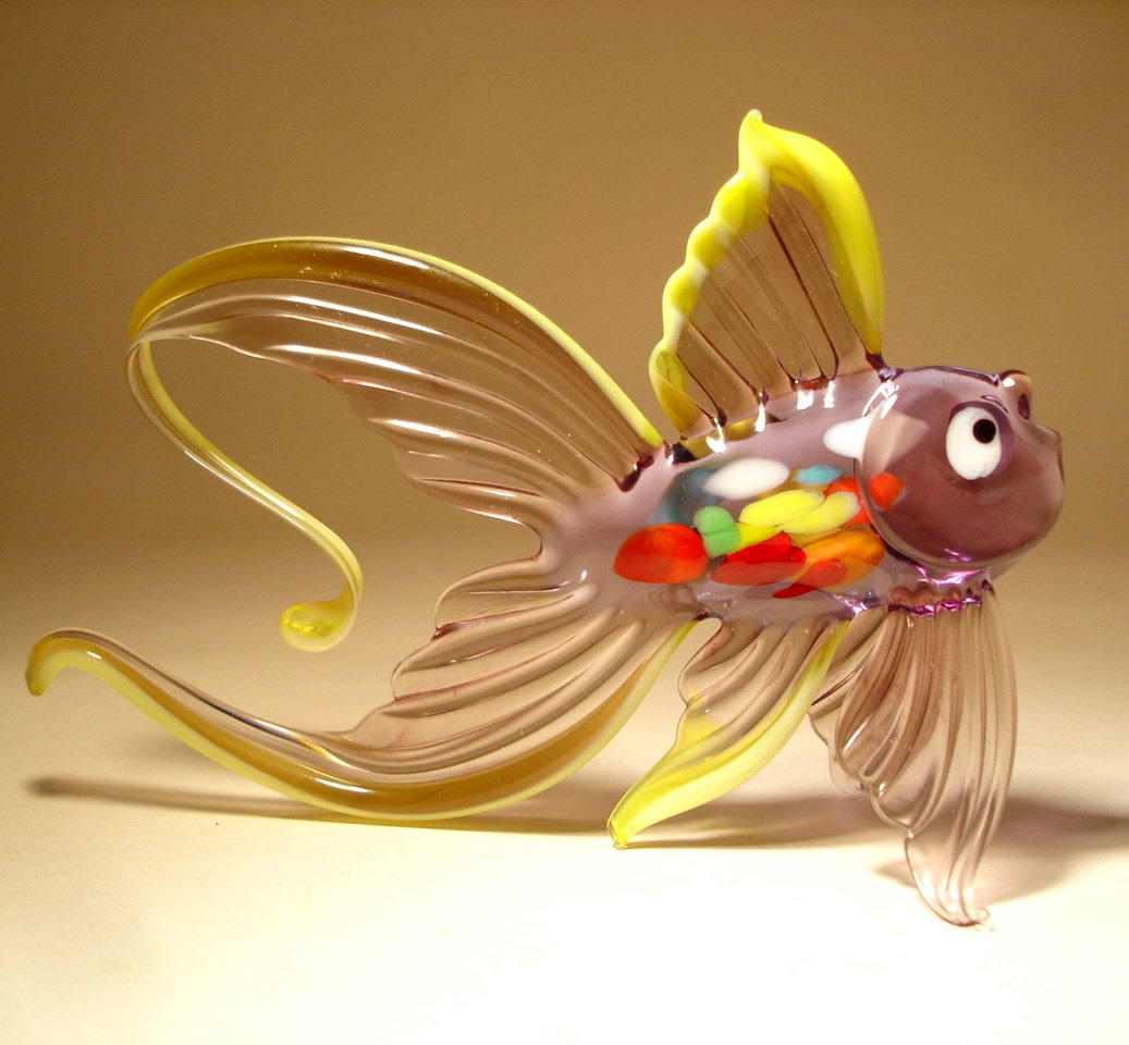 Cute Animal Wallpapers Free Download 22 Stunning Handmade Blown Glass Fish Figurine By Bill