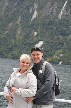 the two of us Milford Sound NZ
