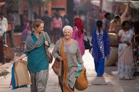 from the movie The best exotic Marigold hotel