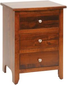 J&M Woodworking Classic Shaker Nightstand