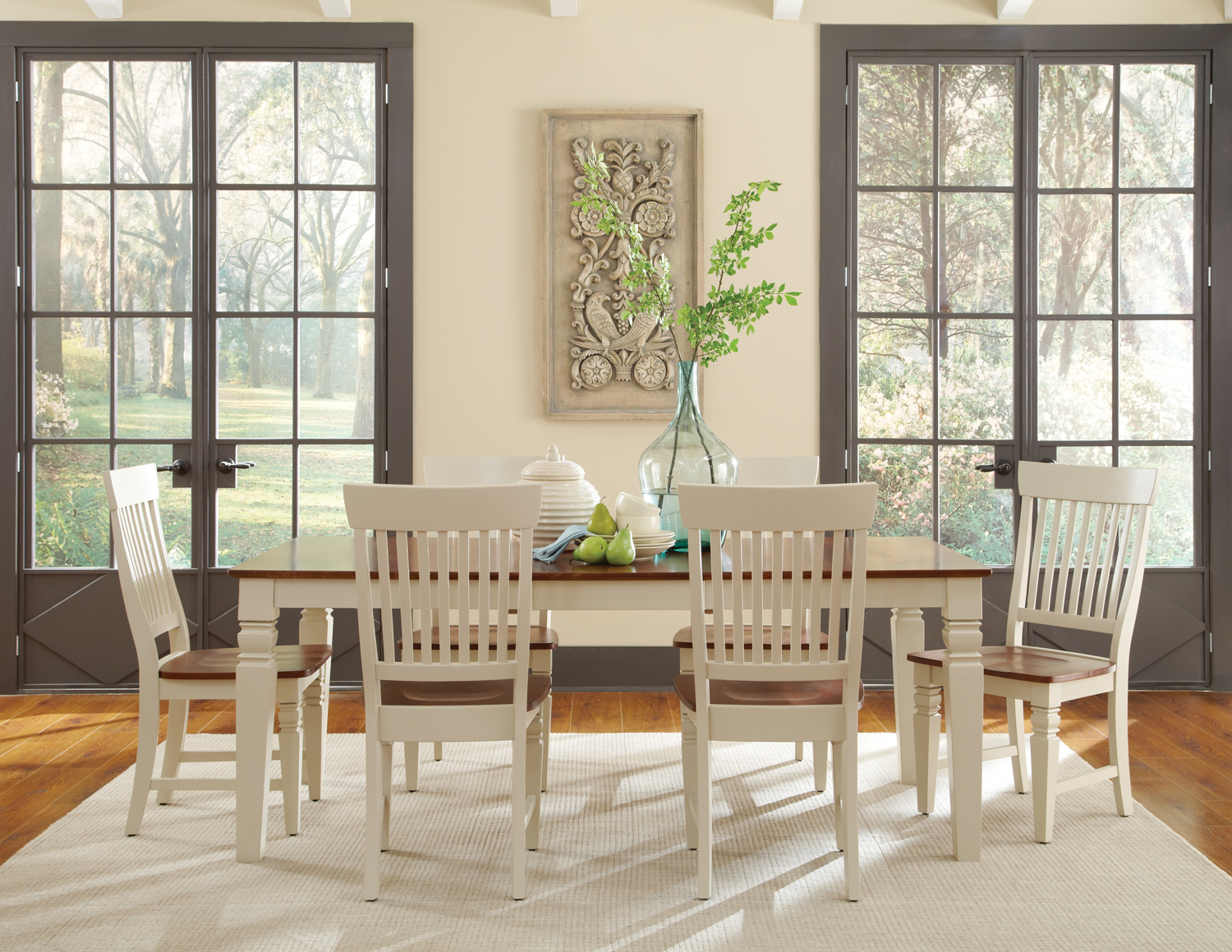 table and chair sale kitchen and dining room furniture whitewood cottage oak and khaki dining set