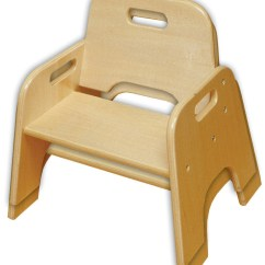 Wooden Chair With Arms For Toddler Tent Baseball Chairs The Toy Chest Elr 18007 10 Stackable Rta
