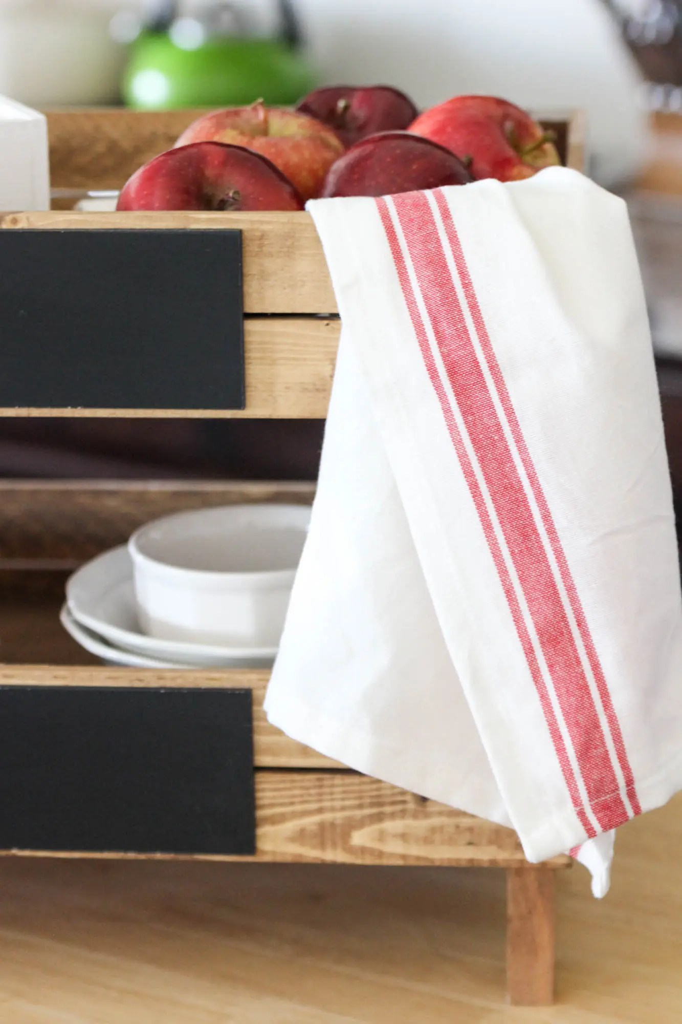 Red Kitchen Towels