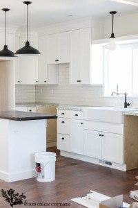 Fixer Upper Update: Cabinet Hardware - The Wood Grain Cottage