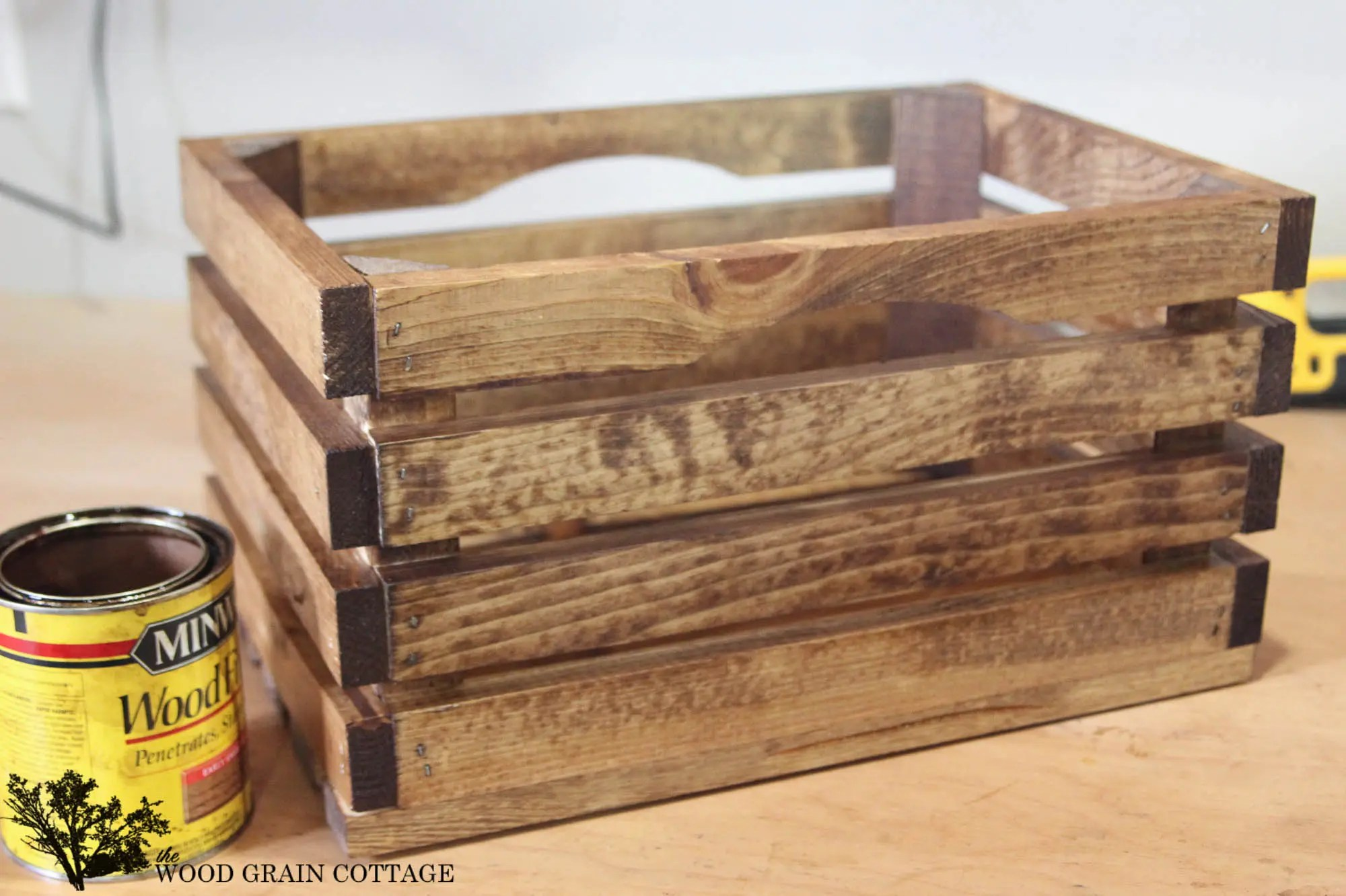 Diy Galvanized Wood Crate Infarrantly Creative