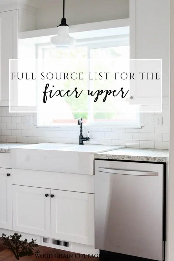 Fixer Upper Kitchen Paint Colors