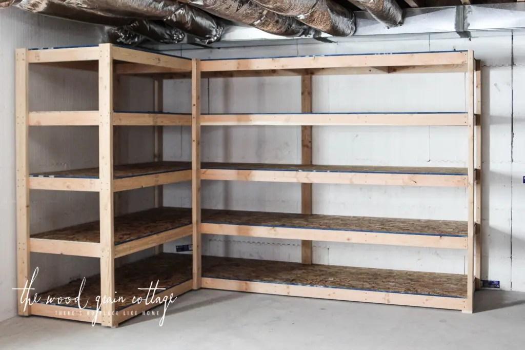 Free Standing Lumber Rack Diy