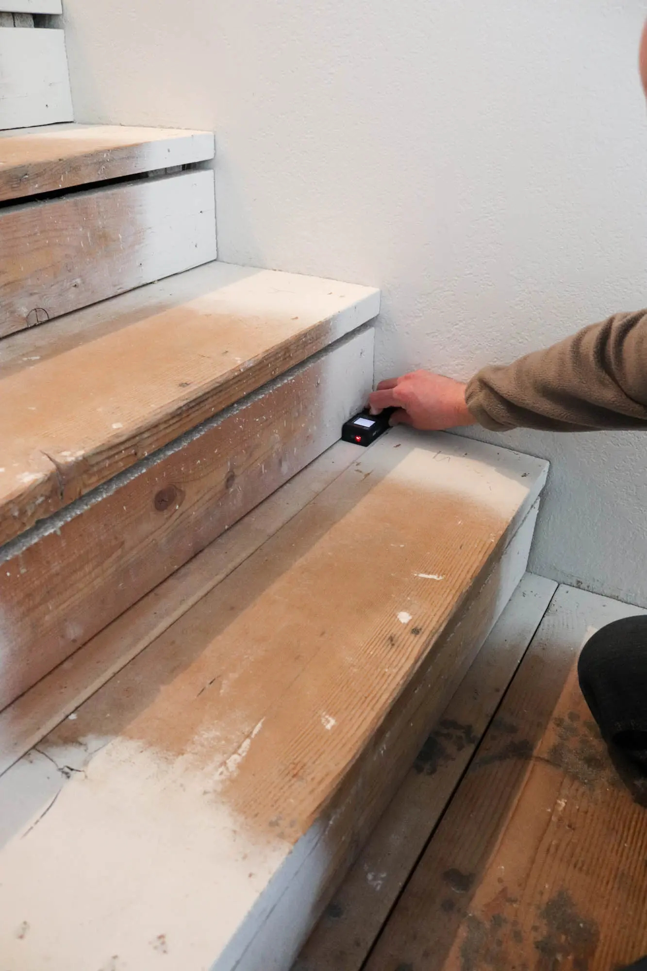 Diy Staircase Makeover The Wood Grain Cottage | Stair Treads For Wood Stairs | Anti Slip Stair | Stair Nosing | Stair Risers | Hardwood Flooring | Examples Terramai