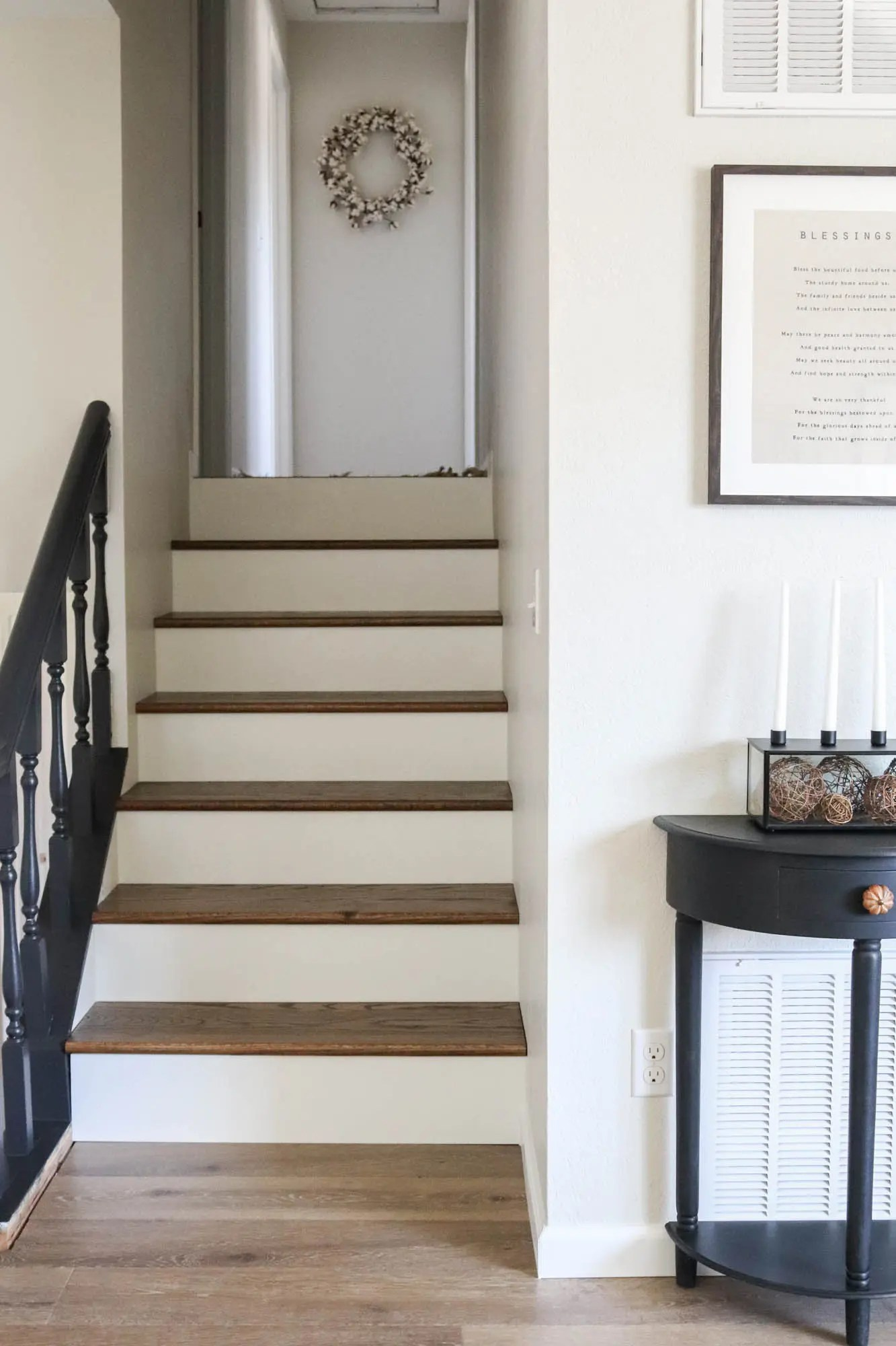 diy staircase makeover the wood grain