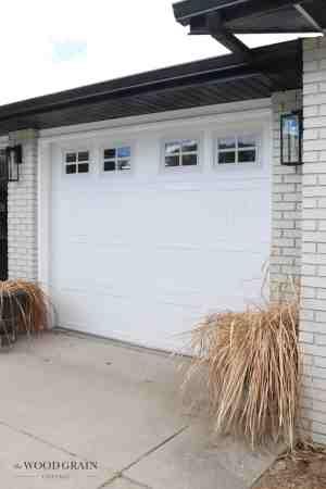 New Garage Doors The Wood Grain Cottage