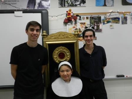 A SIMple Funeral Hosted in AP Literature Classes