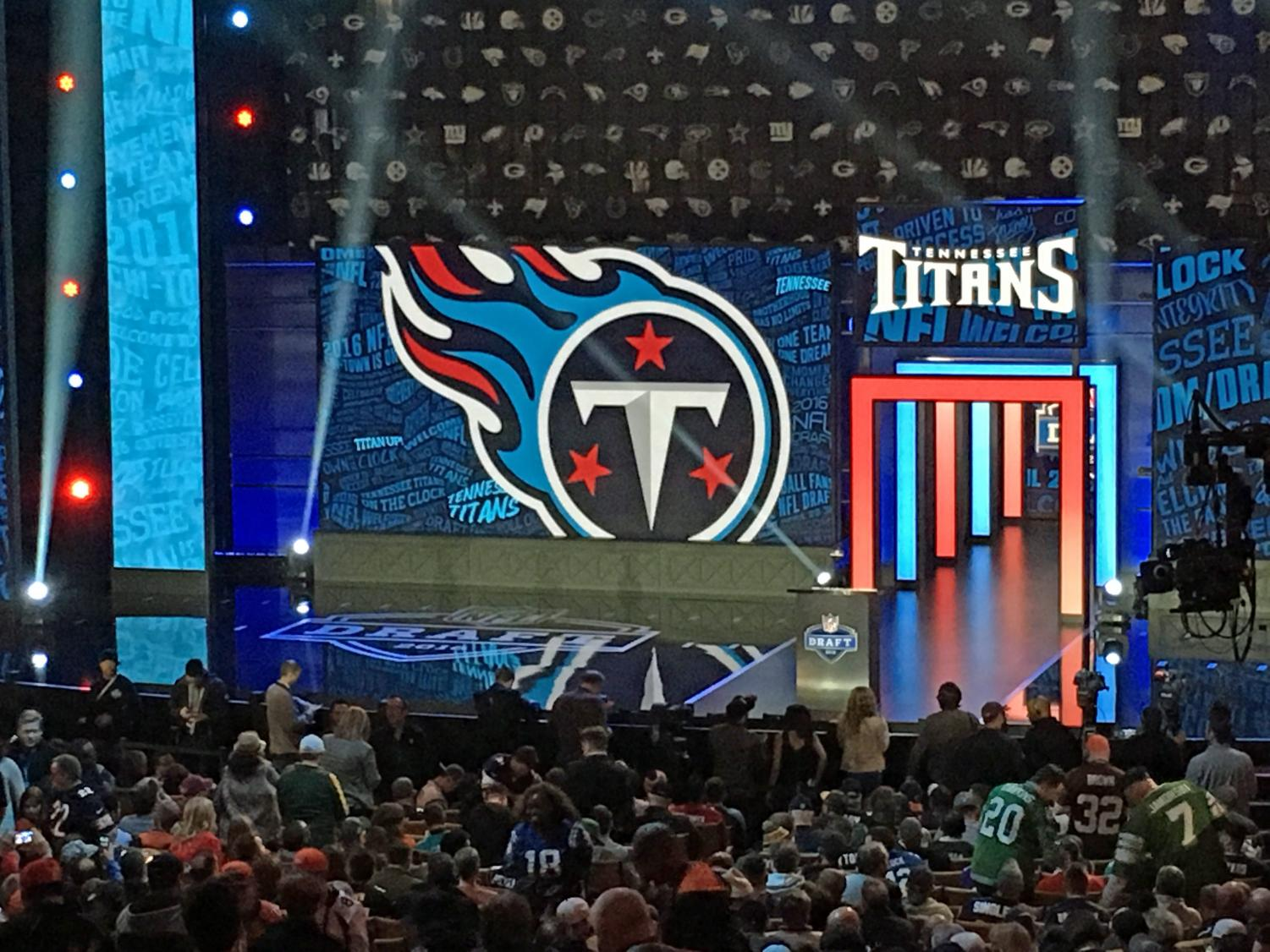 The Titans pick at the 2016 NFL Draft in Chicago, Illinois.