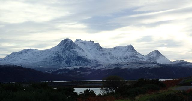 First Snow on Ben Loyal 20/11/15