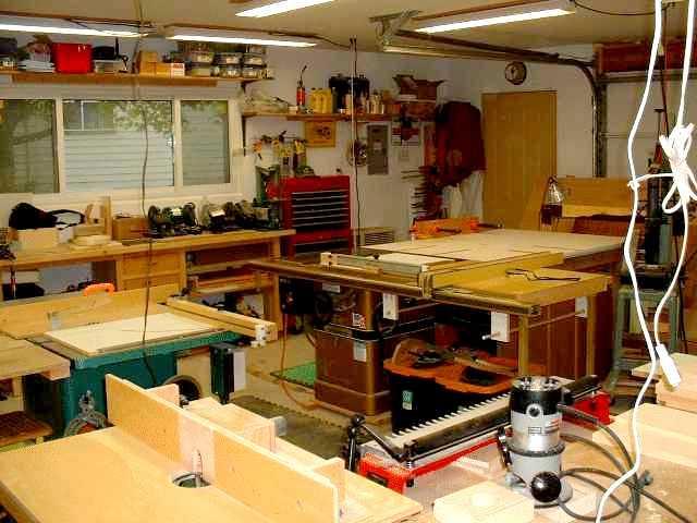 Jack Loganbill's Shop Layout