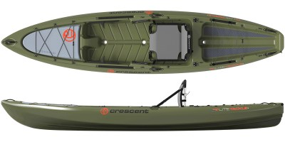 Crescent Kayaks LiteTackle Olive