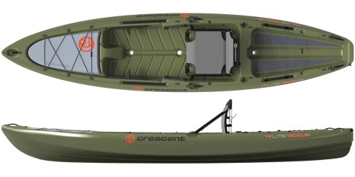 Crescent Kayaks LiteTackle Olive