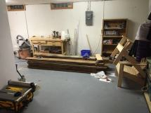 Chris' Basement Work - Wood Whisperer