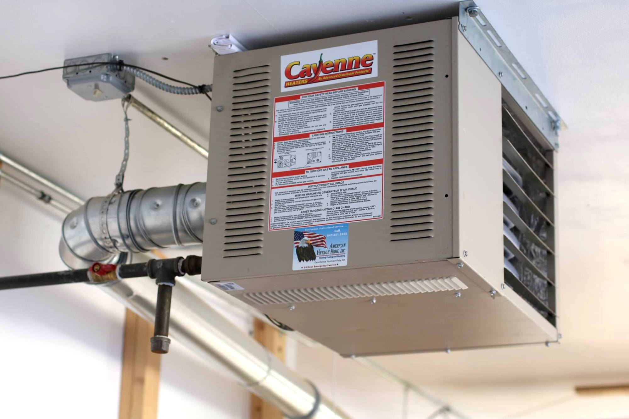 hight resolution of shop heating options gas