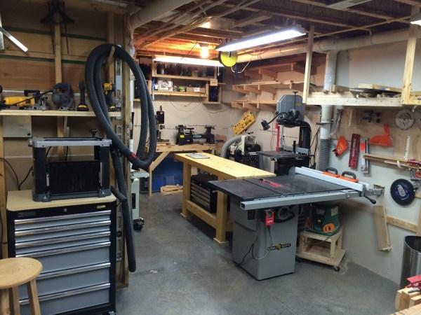 John' Basement Workshop - Wood Whisperer
