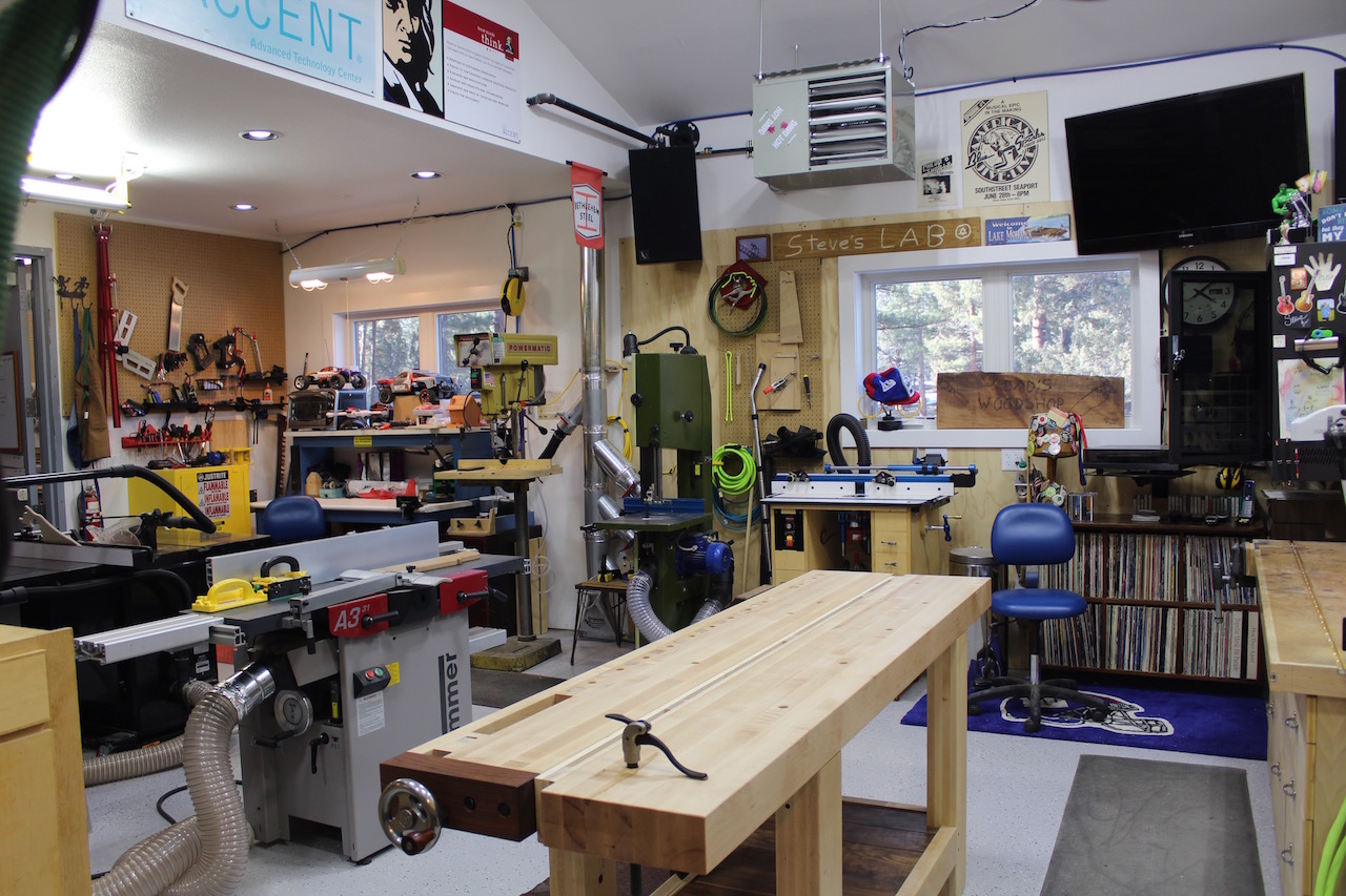 hight resolution of my wife and i recently finished a significant renovation on our dream home and thankfully i got a nice dedicated woodshop out of the deal