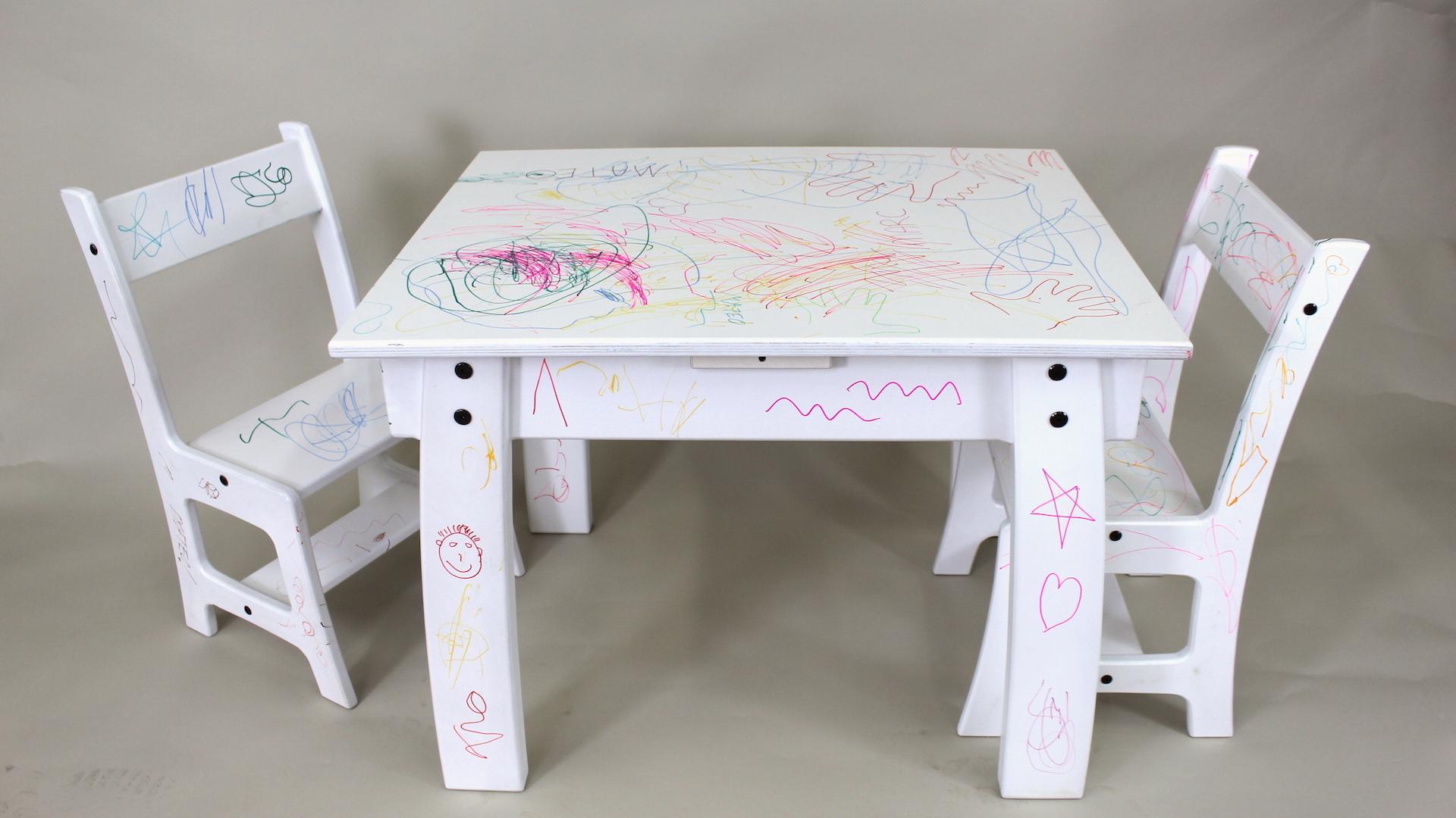 Kids Table Chair Set The Wood Whisperer