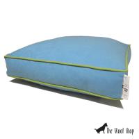 Oscar & Lulu Lulu Blue Dog Bed