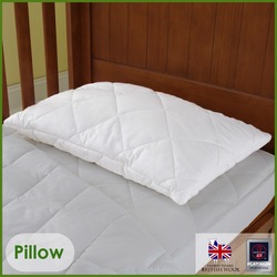 Wool Cot Pillow Baby 40x60cms