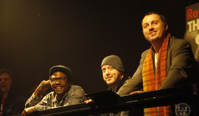 DJ (Judges) 12th Planet, Adam 12, Graham Funke