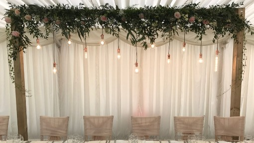 Wedding Backdrops To Hire  Frames  Stands  The Word is Love