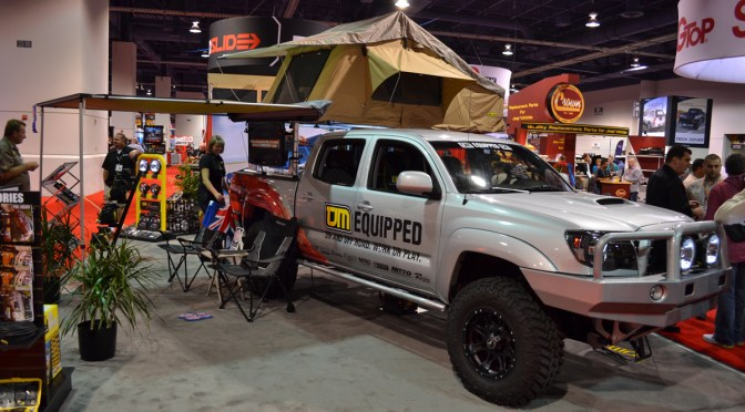 Sema 2011 – Overlanding/Expedition rig with a tent