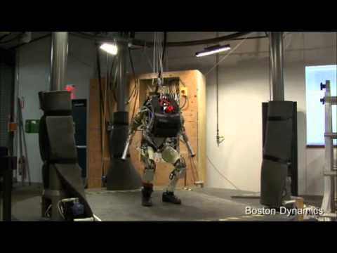 PETMAN US Military Clothing Tester