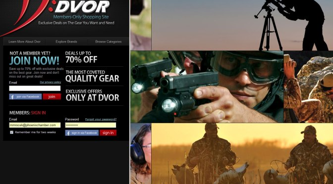 DVOR – It's like Groupon for tactical gear.