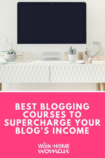Are you tired of buying hyped-up blogging courses, only to be let down? Here are some of the best blogging courses on the market to supercharge your blogging income! #blogging #blog #blogger #money #courses via @TheWorkatHomeWoman