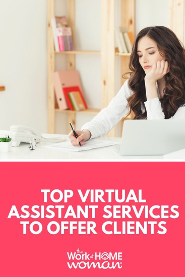 If you are looking to become a VA or looking to expand your existing virtual assistant services, here are 10 in-demand services to offer. #business via @TheWorkatHomeWoman