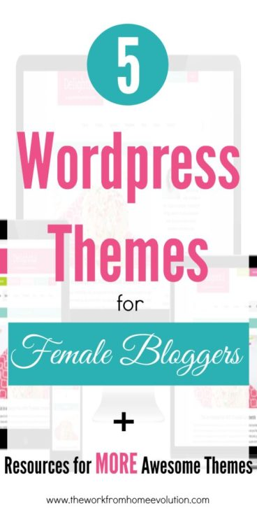5 WordPress Themes for Female Bloggers