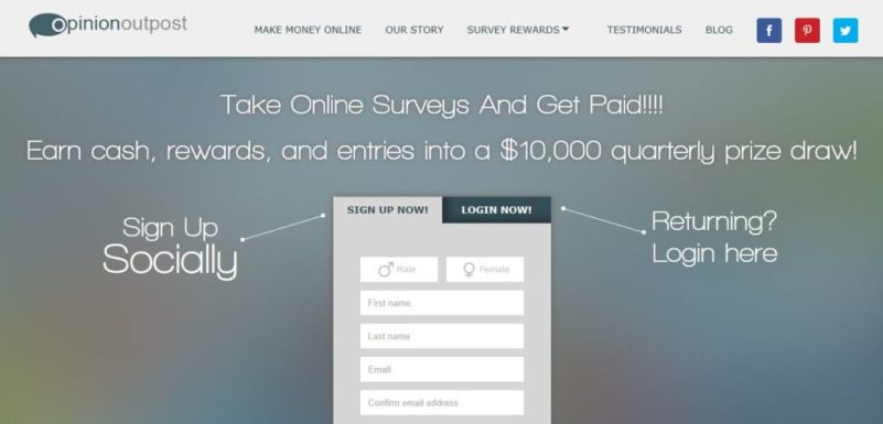 Opinion Outpost - Make Extra Money with Paid Surveys