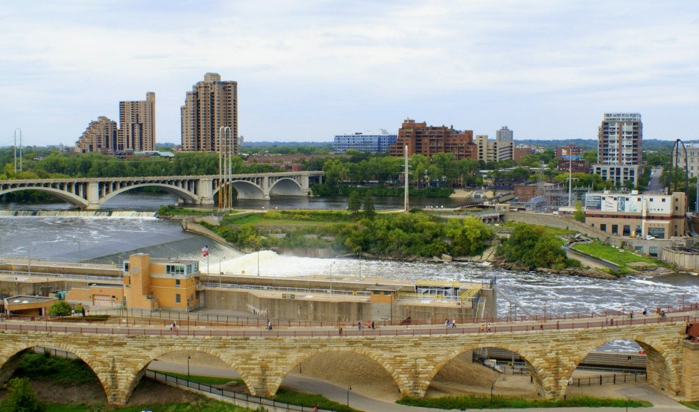 View from Mill City Museum