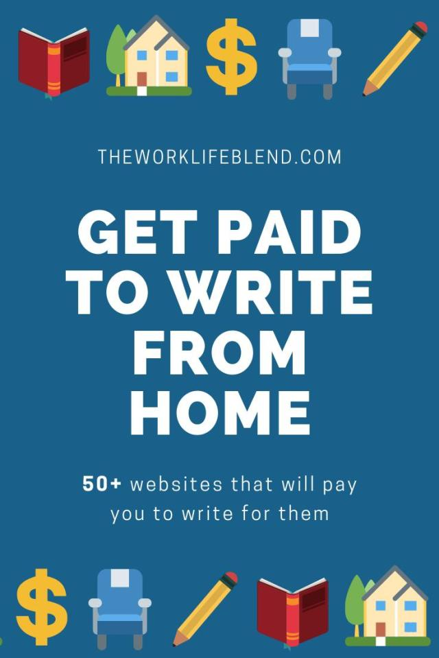 17 Websites That Pay You To Write and Earn Money From Home