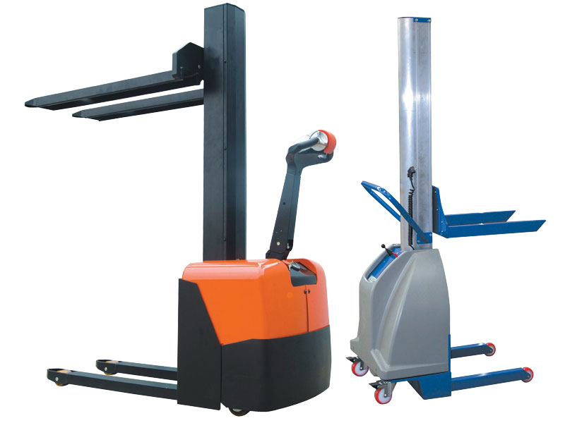 Buy 1000kg Electric Lift Pallet Stacker  Free Delivery