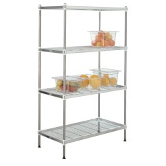 Kitchen Wire Rack Set Of 4 Chairs Buy Stainless Steel Shelving Free Delivery Freedelivery Shelves