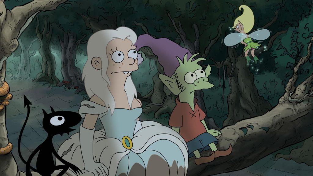 Anime Girl Wallpaper Elf Disenchantment Review On Matt Groening And Animated
