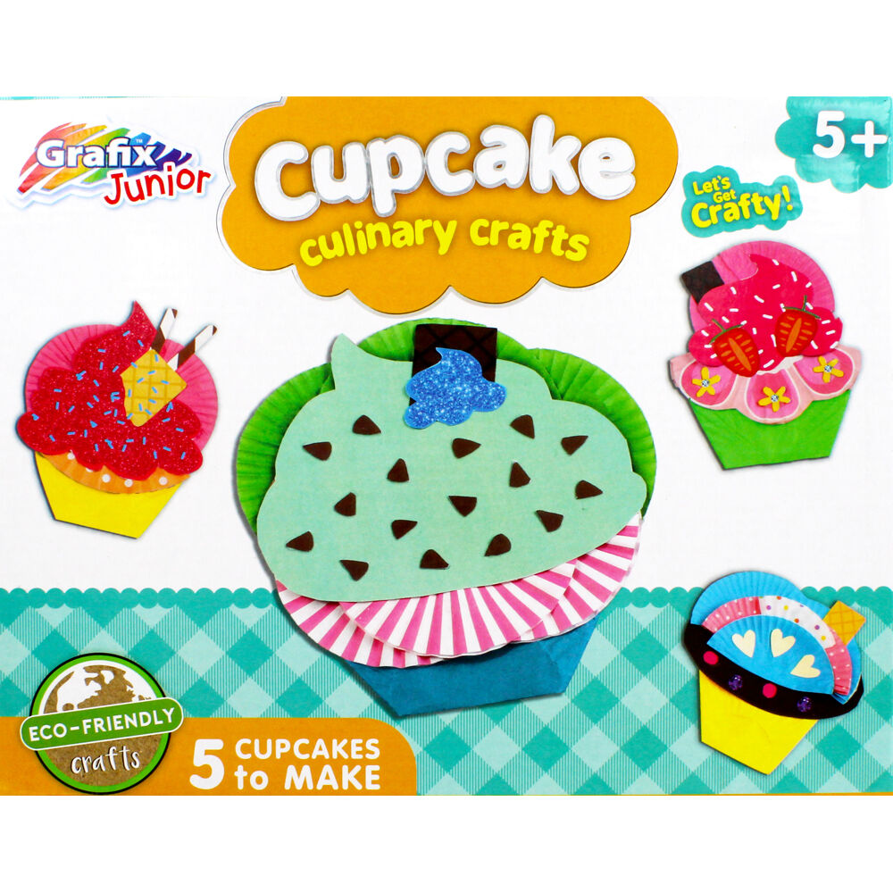 Turn ordinary boxes into fun and practical items. Cupcake Culinary Craft Kit From 1 00 The Works