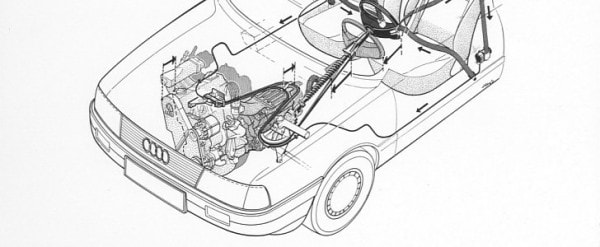 Download AUDI 80 Electrical System Wiring Workshop Manual